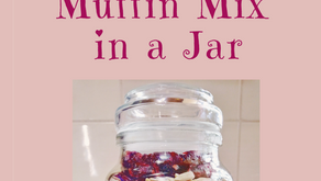 Sultana Cranberry Muffin Mix in a Jar