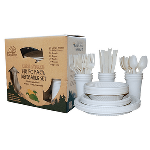 Compostable Partyware set