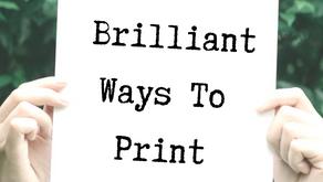 12 Brilliant Ways To Print Greener