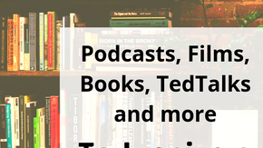 Inspiration for Living With Less Waste (Podcasts, Books, Films and more)