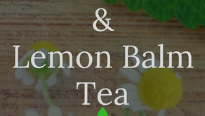 Chamomile and Lemon Balm Tea: Fresh From the Garden