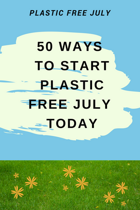 50 Easy Ideas for Plastic Free July