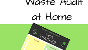How To Do A Waste Audit at Home