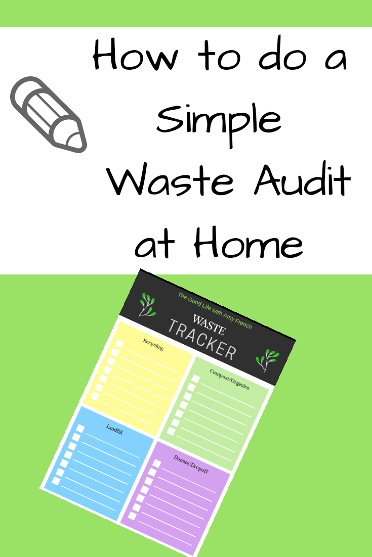 How to do a Simple Waste Audit at Home