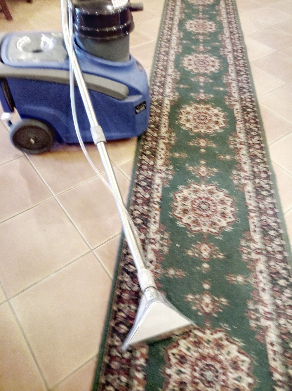 Britex steam cleaner for Carpets and Rugs : Green Cleaning alternative to chemicals