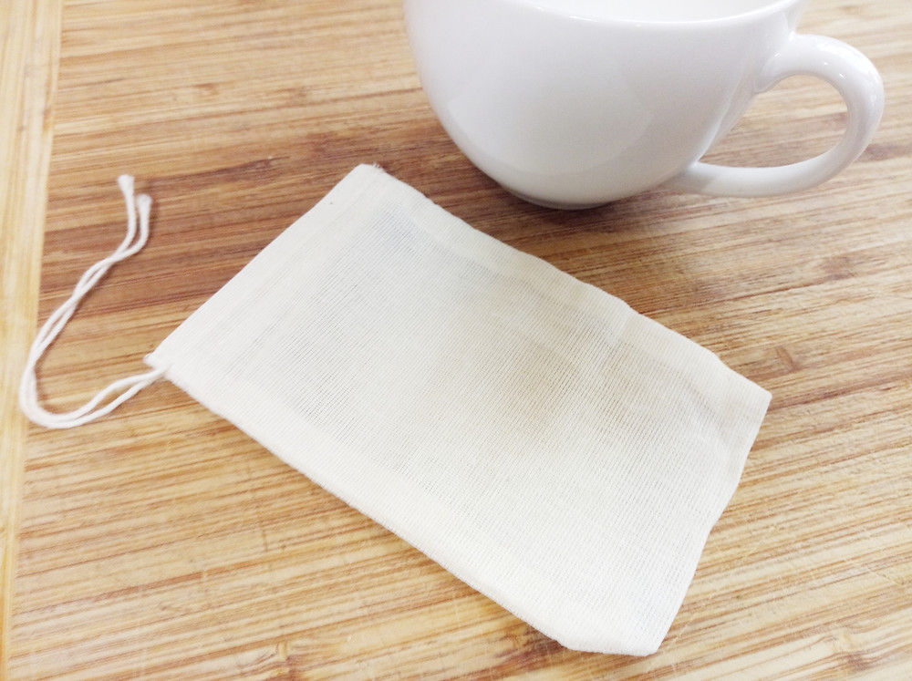 Reusable coffee bags - organic cotton, food safe (The Good Life with Amy French)