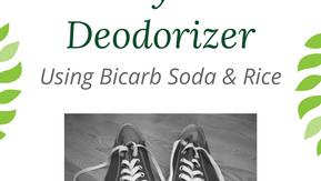 Shoe Deodoriser: Bi-Carb Soda and Old Rice
