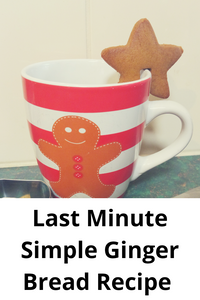 Last Minute Simple Ginger Bread Recipe