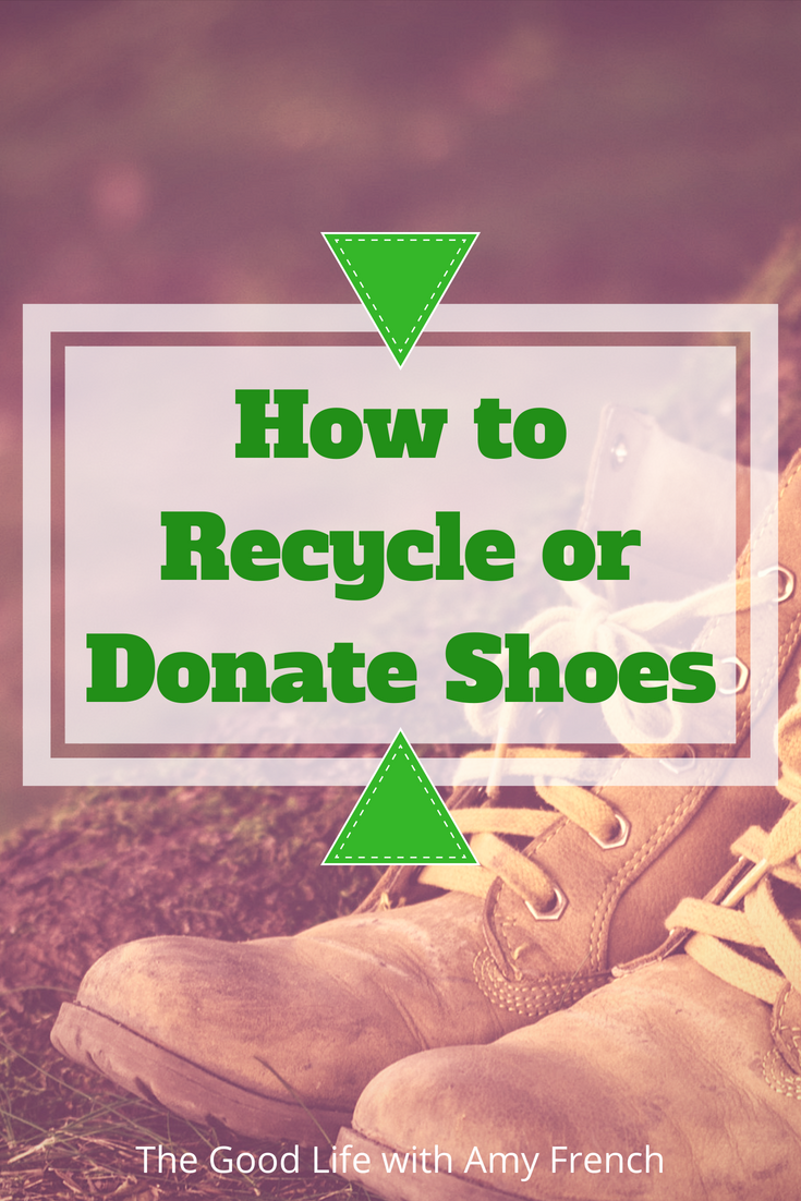 How to Recycle or Donate Old Shoes
