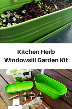 Kitchen Herb Windowsill Garden Kit - Review
