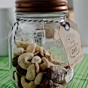 zero waste gift in a jar