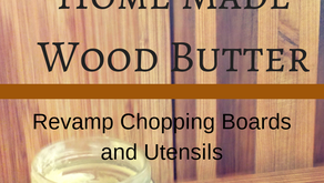 Revamp Wooden Chopping Boards with Home Made Wood Butter