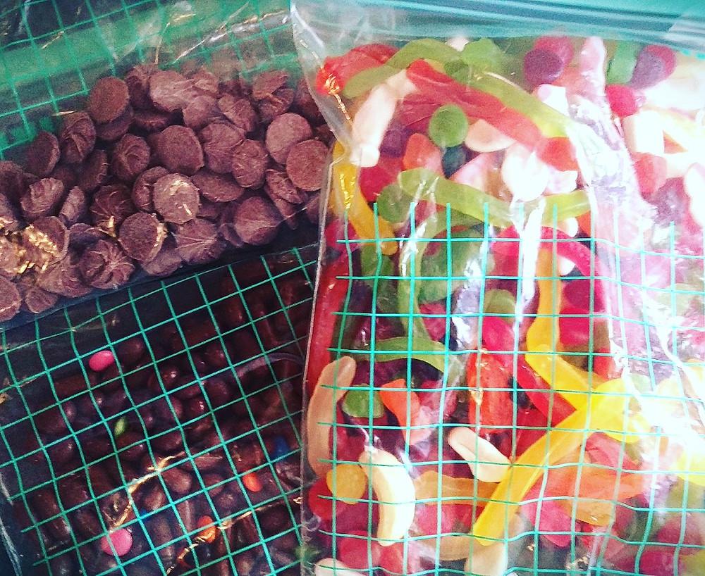 zero waste lollies for the pinata