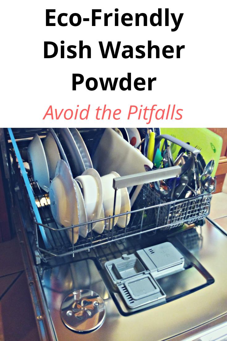 Eco-Friendly Dishwashing Powder - Avoid The Pitfalls