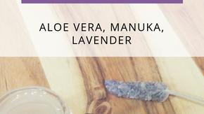 Aloe Vera, Lavender and Manuka Spot Gel