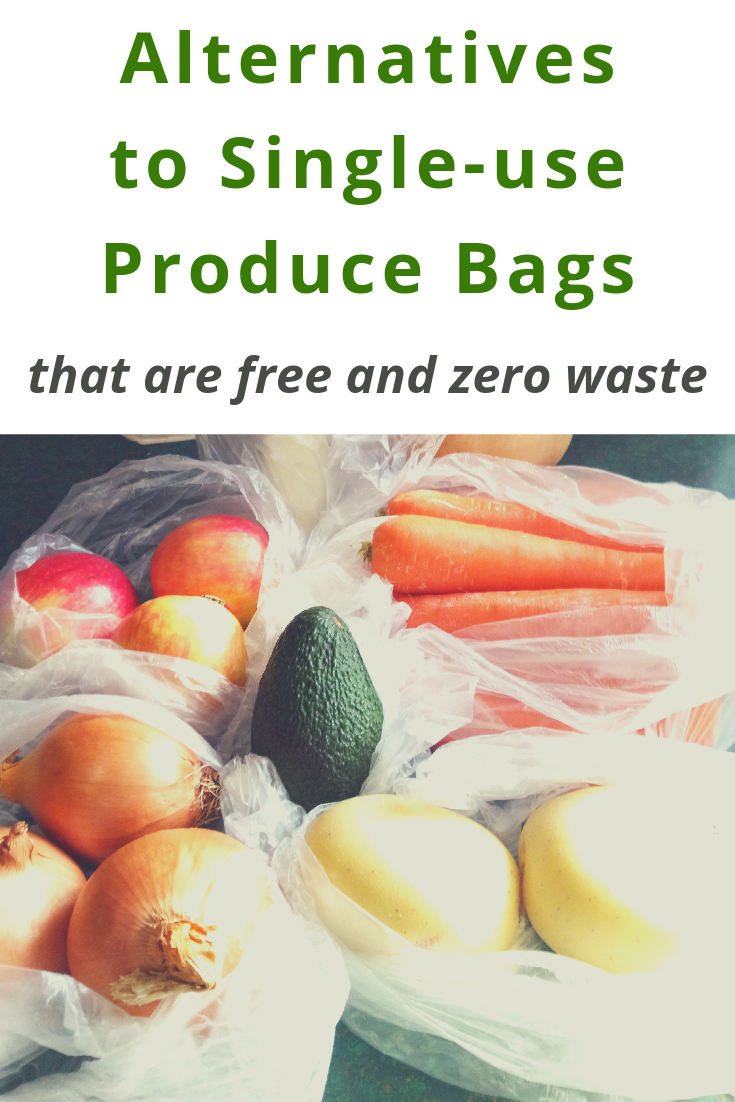 Alternatives to Single-Use Produce Bags (that are free and zero waste)