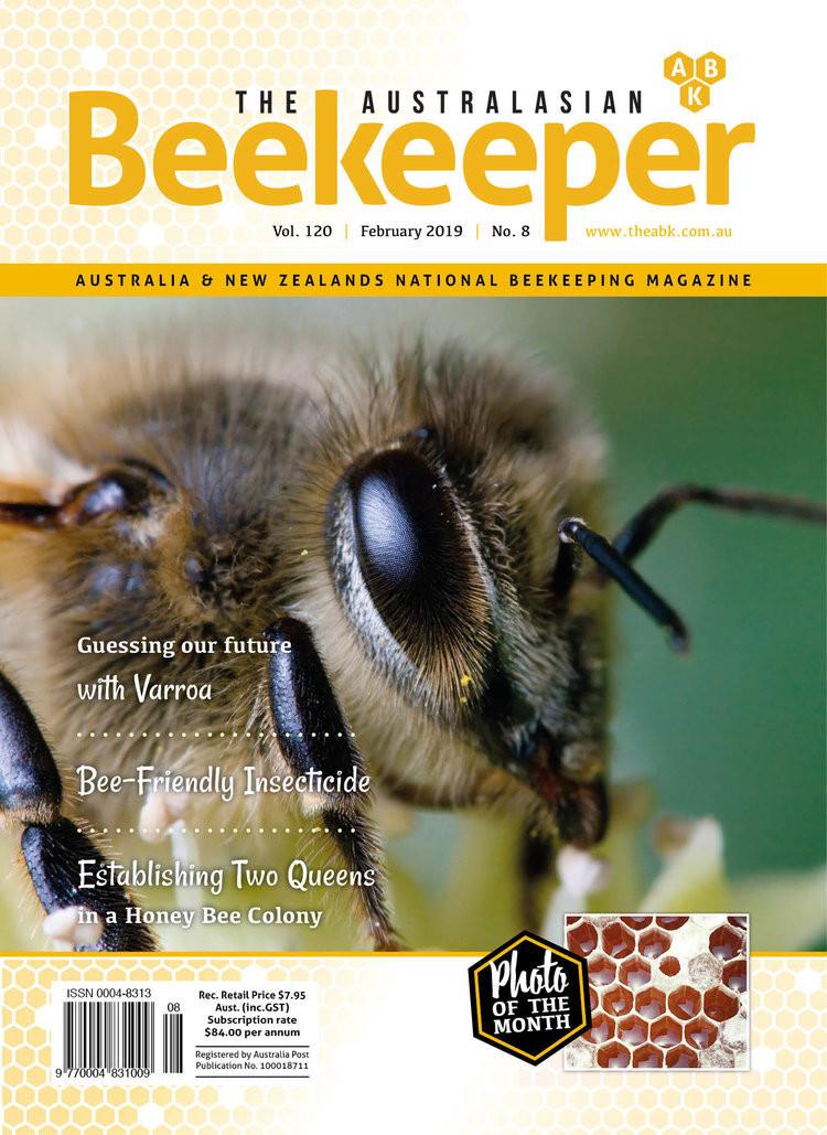 The Australasian Beekeeper Magazine Subscription