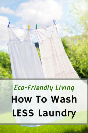 How To Wash Laundry LESS Often (for The Planet)