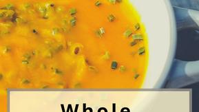 Whole Butternut Pumpkin Soup Recipe