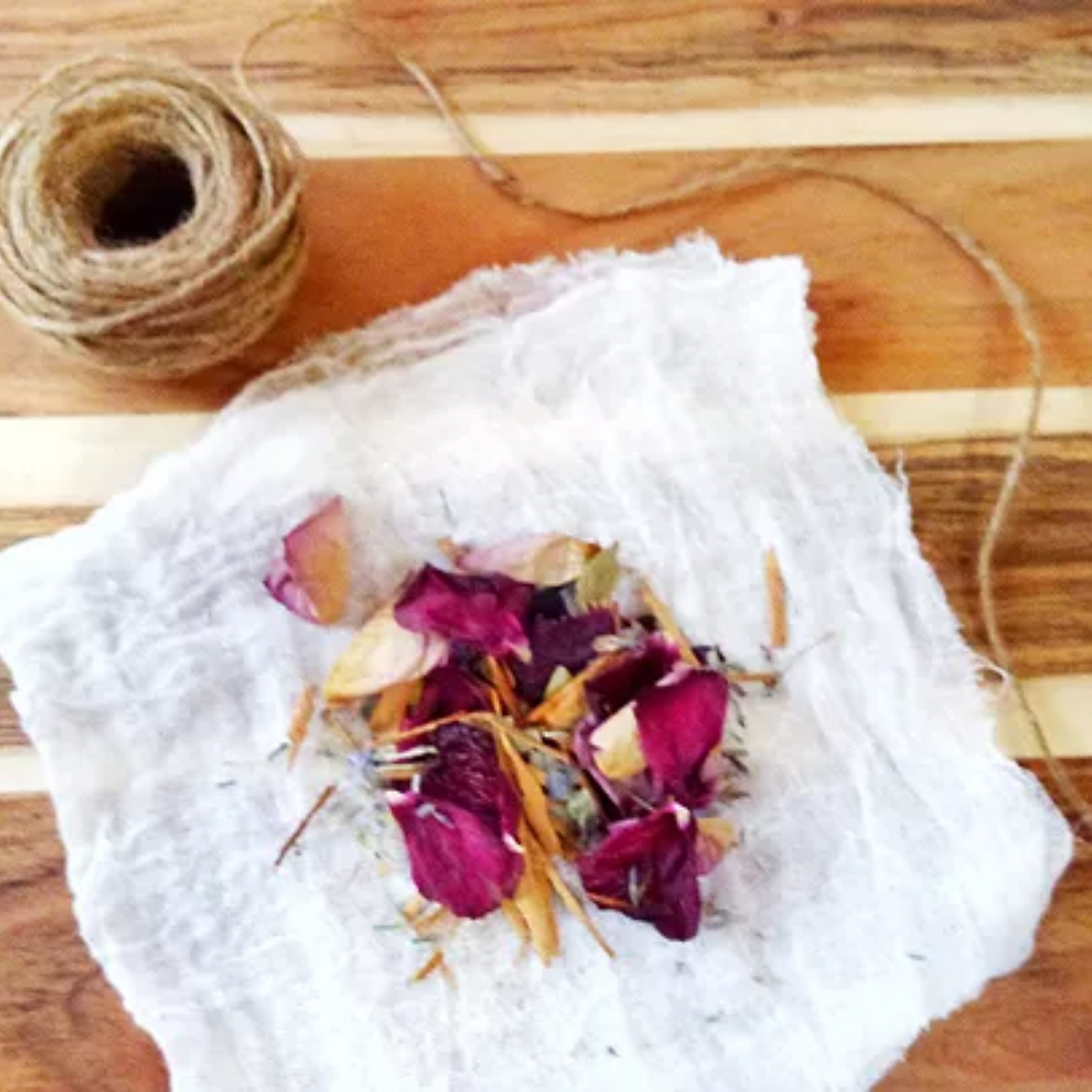 DIY Botanical Sachets