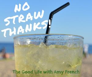 No Straw Thanks