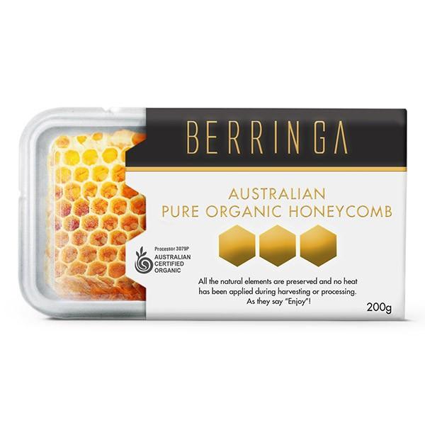 Australian Organic Honey Comb