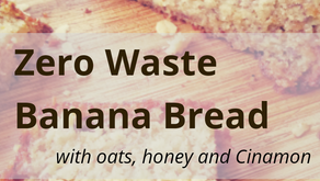 Zero Waste Banana Bread Recipe