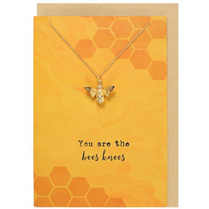 HoneyBee Gift Card and Necklace