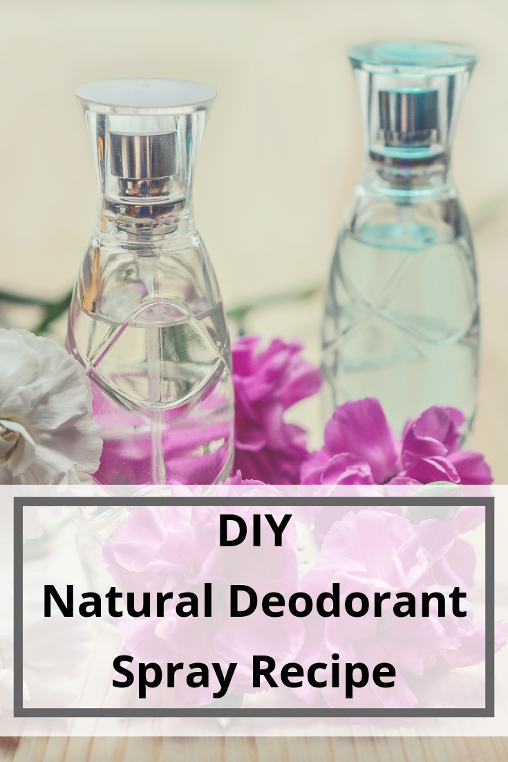 DIY Natural Deodorant Spray - Bicarb Free, non-toxic