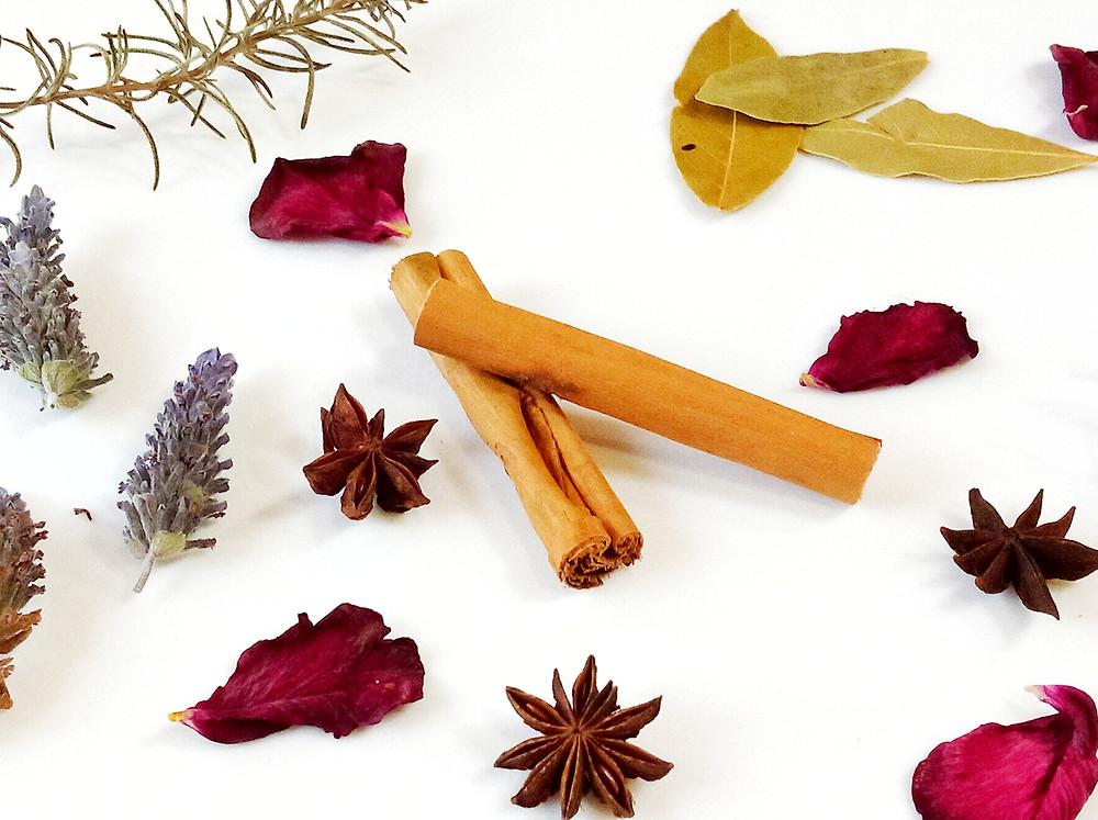 Botanical Drawer Sachet ingredients