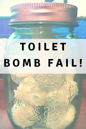 Toilet Bomb Fail