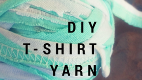 How to Make T-shirt Yarn From Worn Out Clothing