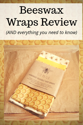 Eco Patch Beeswax Wraps Review and How To Use Them