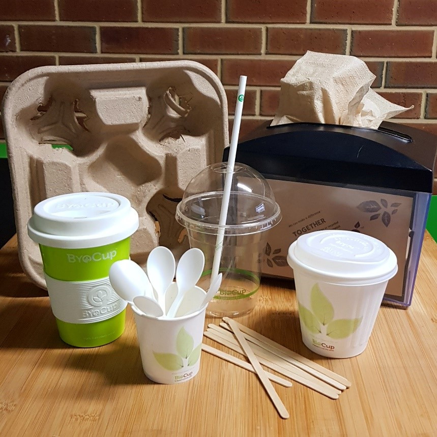 Compostable and Biodegradable takeaway consumables