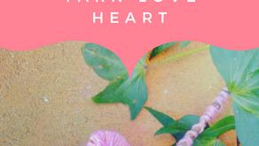 Ecofriendly Valentine's Day: Yarn Love Heart