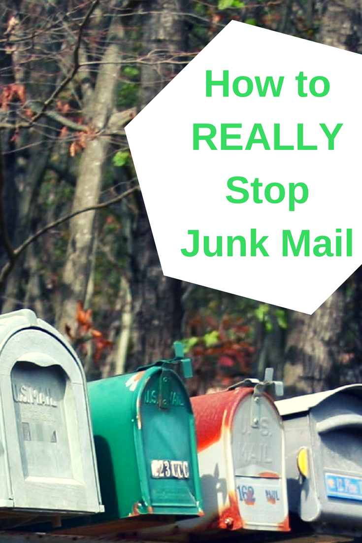 How to Stop Junk Mail (Zero Waste Letterbox)