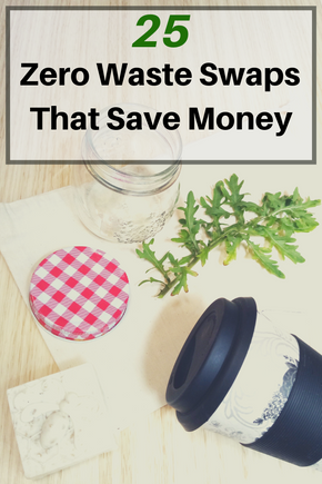 25 Zero Waste Swaps that WILL Save You Money