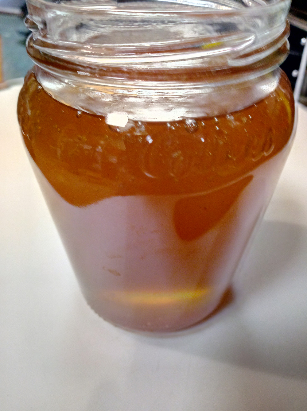 refill honey jars plastic free