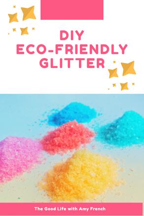 How to Make Eco Friendly Glitter
