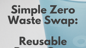 Simple Zero Waste Party Swap: Reusable Cups