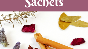 Make Your Own Naturally Scented Botanical Drawer Sachets