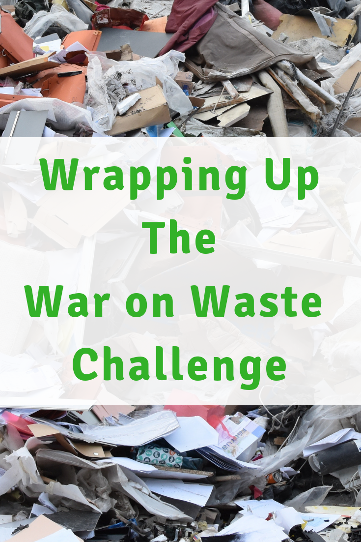 Wrapping up the War On Waste Challenge