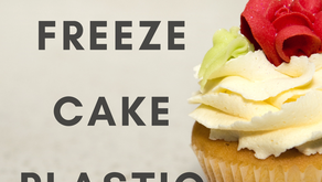 Freezing Cake Plastic Free