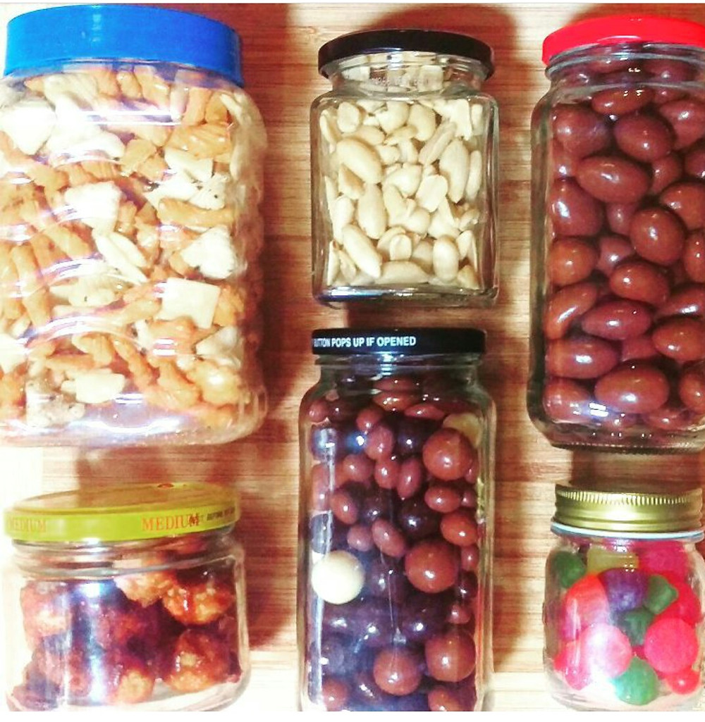 Tare your containers before filling