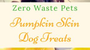 Pumpkin Skin Dog Treats - Zero Waste