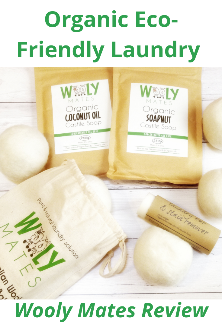 Organic Eco-Friendly Laundry Products - Wooly Mates Review