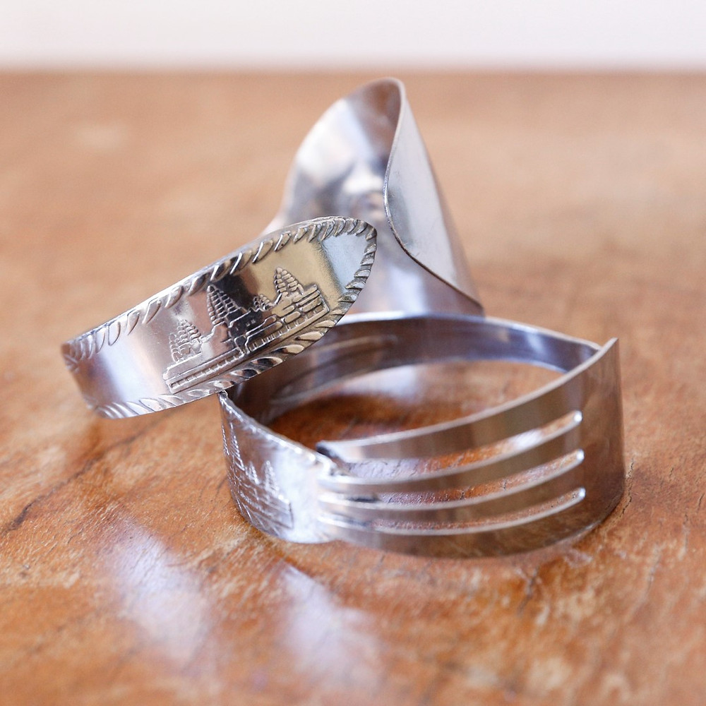 Upcycled ring