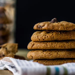 home baked cookies snack