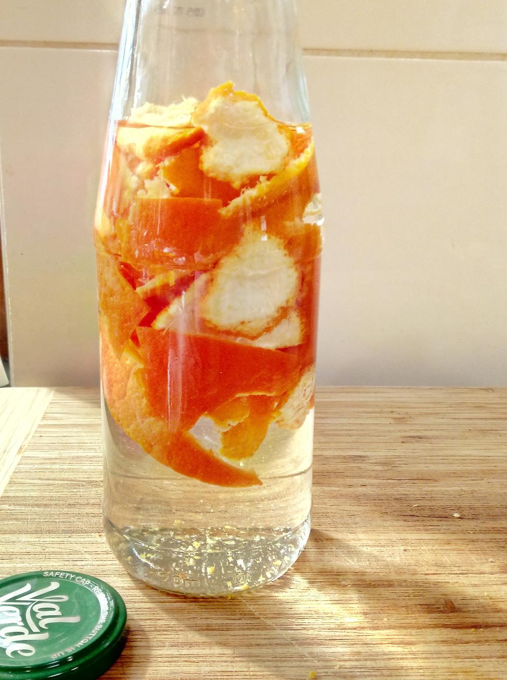 Reuse Citrus peels
