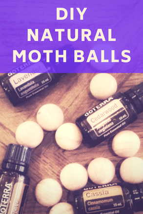 DIY Natural Moth Balls with Essential Oils
